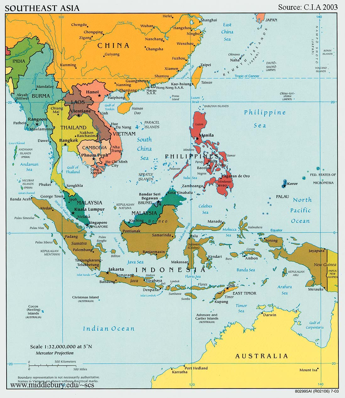 Southeast-Asia-Political-Map-CIA-2003